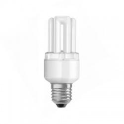 8W/840 E27, studená biela, žiarivka