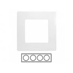 4-rámik, biely, 665004