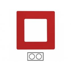 2-rámik, červený, 665022