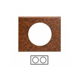 2-rámik, železo zoxidované
