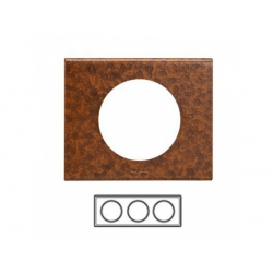 3-rámik, železo zoxidované