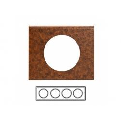 4-rámik, železo zoxidované