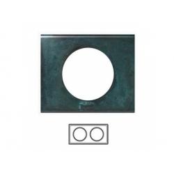 2-rámik, meď zoxidovaná