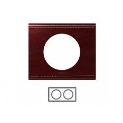 2-rámik, koža vínová
