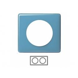 2-rámik, lesklá modrá