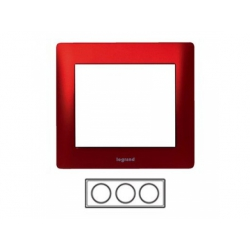 3-rámik, kov červený 771903