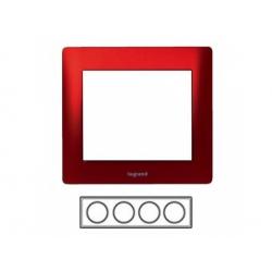 4-rámik, kov červený 771904