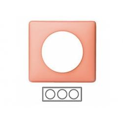3-rámik, ružová matná