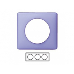 3-rámik, fialová matná