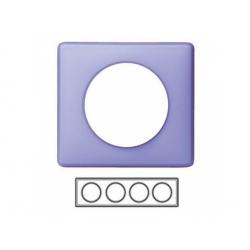 4-rámik, fialová matná
