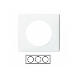 3-rámik, biela neutrálna