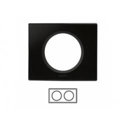 2-rámik, sklo čierne