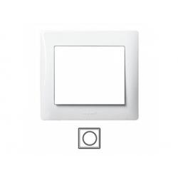 1-rámik, metalíza biela 771001