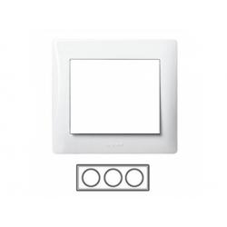 3-rámik, metalíza biela 771003