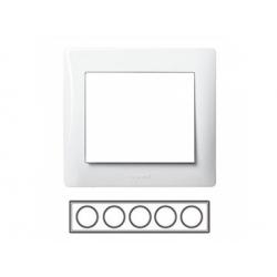 5-rámik, metalíza biela 771005