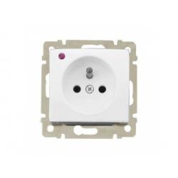 S74396 Valena zásuvka s prepäťovou ochranou, biely