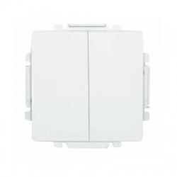 3557G-A52340 B1 vypínač č.6+6 (6+1), biely