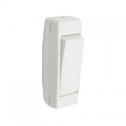 3251-01915 1-pólový spínač šnúrový, biely