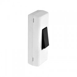 3555-01927 1-pólový spínač šnúrový, biely