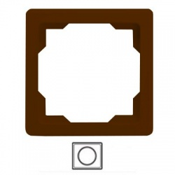 1-rámik, hnedý, 3901G-A00010 H1