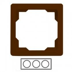 3-rámik, hnedý, 3901G-A00030 H1