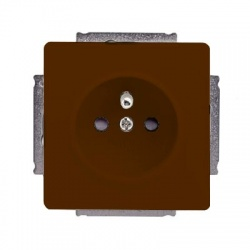5518G-A02359 H1 zásuvka IP40, hnedá