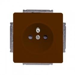 5518G-A02349 H1 zásuvka, hnedá