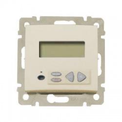 774167 Valena lokálny stereo ovládač s LCD, béžový