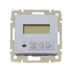 770267 Valena lokálny stereo ovládač s LCD, hliník