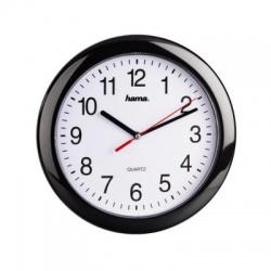PP-250 nástenné hodiny Quartz, čierne