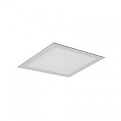 WD107 12W LED panel, štvorcový, teplá biela