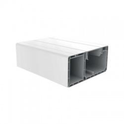 PK 120x55 D HD lišta parapetná, 2m, biela