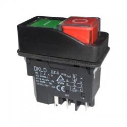 DKLD DZ-6 spínač, IP55, 5 kontaktov