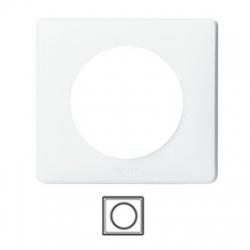 1-rámik, IP 44, biela