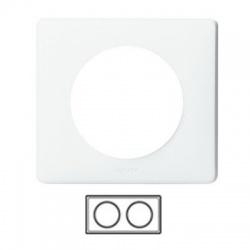 2-rámik, IP 44, biela
