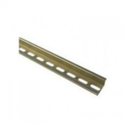 DIN lišta 1000x7,5mm, pozinkovaná