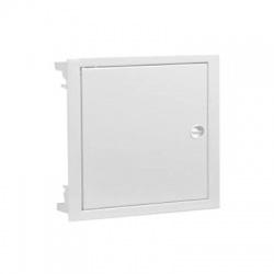 2x12 modulov, IP40, zápustná rozvodnica, dvere kovové biele