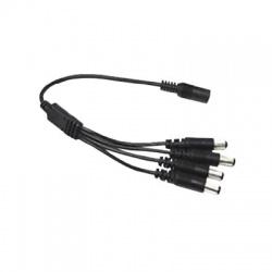 VSDC14 napájaci kábel jack 1vstup samec 4x