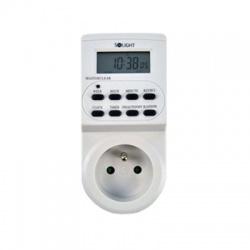 DT03 230V, 16A, časový spínač digitálny, displej, 17 režimov