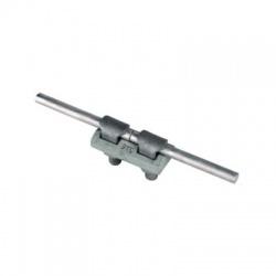 Dvojdielna svorka KS kruhový vodič Rd 7-10mm, skrutka a matka M10 s rozstupom 30mm, FeZn