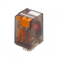 3 prep. kontakty, 24V, AC, 10A, relé multifunkčné
