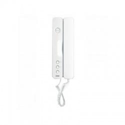 1150/1 telefón s tlačidlá pre otváranie, 1 servisné tlačidlo, biely