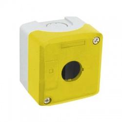 Prázdna skrinka, 1 otvor, IP66, žltá