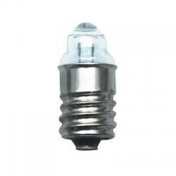 2,2V 300mA E10 žiarovka so šošovkou
