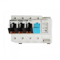 Poistkový odpínač TYTAN II 3+N-pólový, 63A
