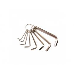Sada imbusových kľúčov, 8 dielna