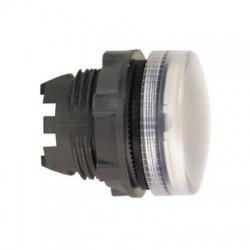 Krycia hlavica LED objímky, biela