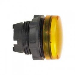 Krycia hlavica LED objímky, žltá