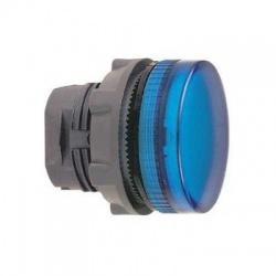 Krycia hlavica LED objímky, modrá