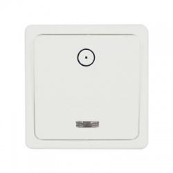 DS S 1101-10 vypínač č.1/0, biely (orientačný)